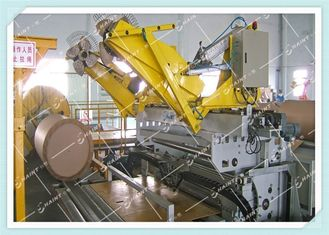 Jumbo Kraft Roll Wrapping Machine Fully Automated With Customized Color
